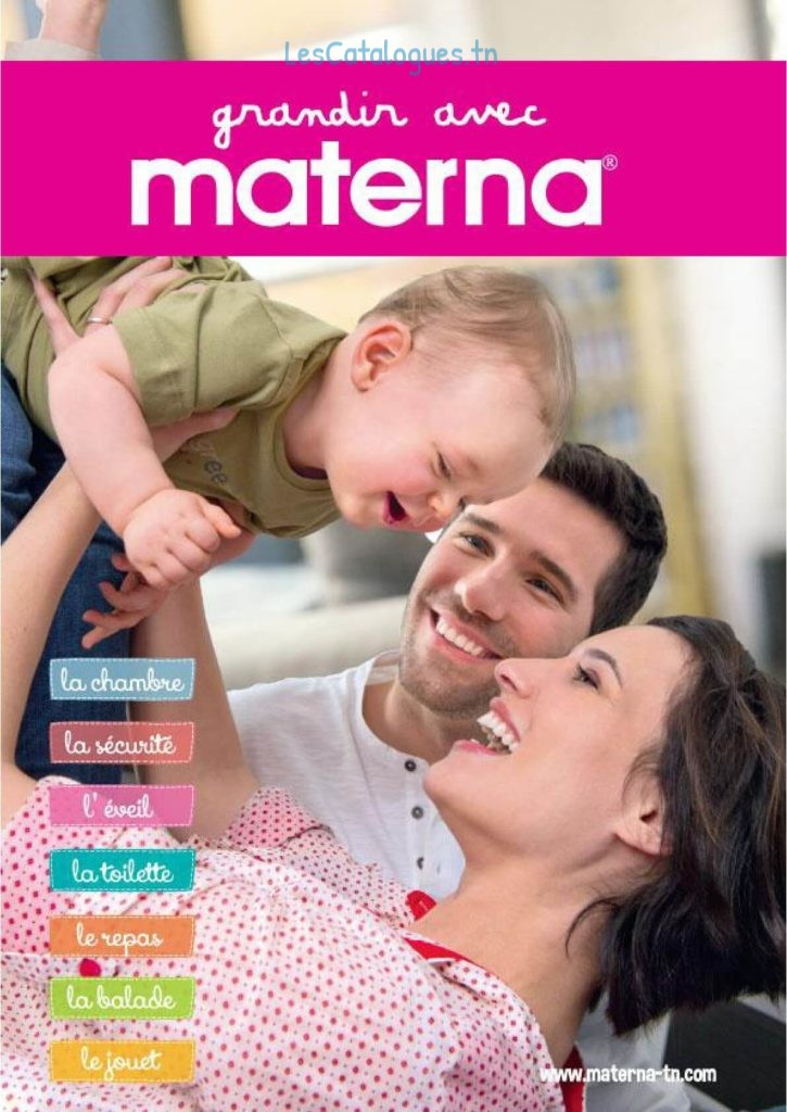 catalogue materna 2018