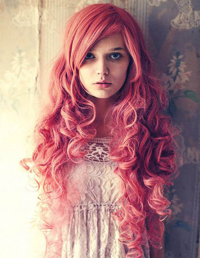cheveux-longs-roux-ondules-frange