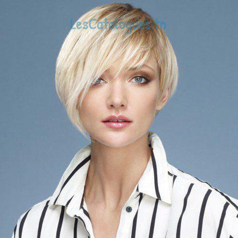 La coupe cheveux courte asymétrique
