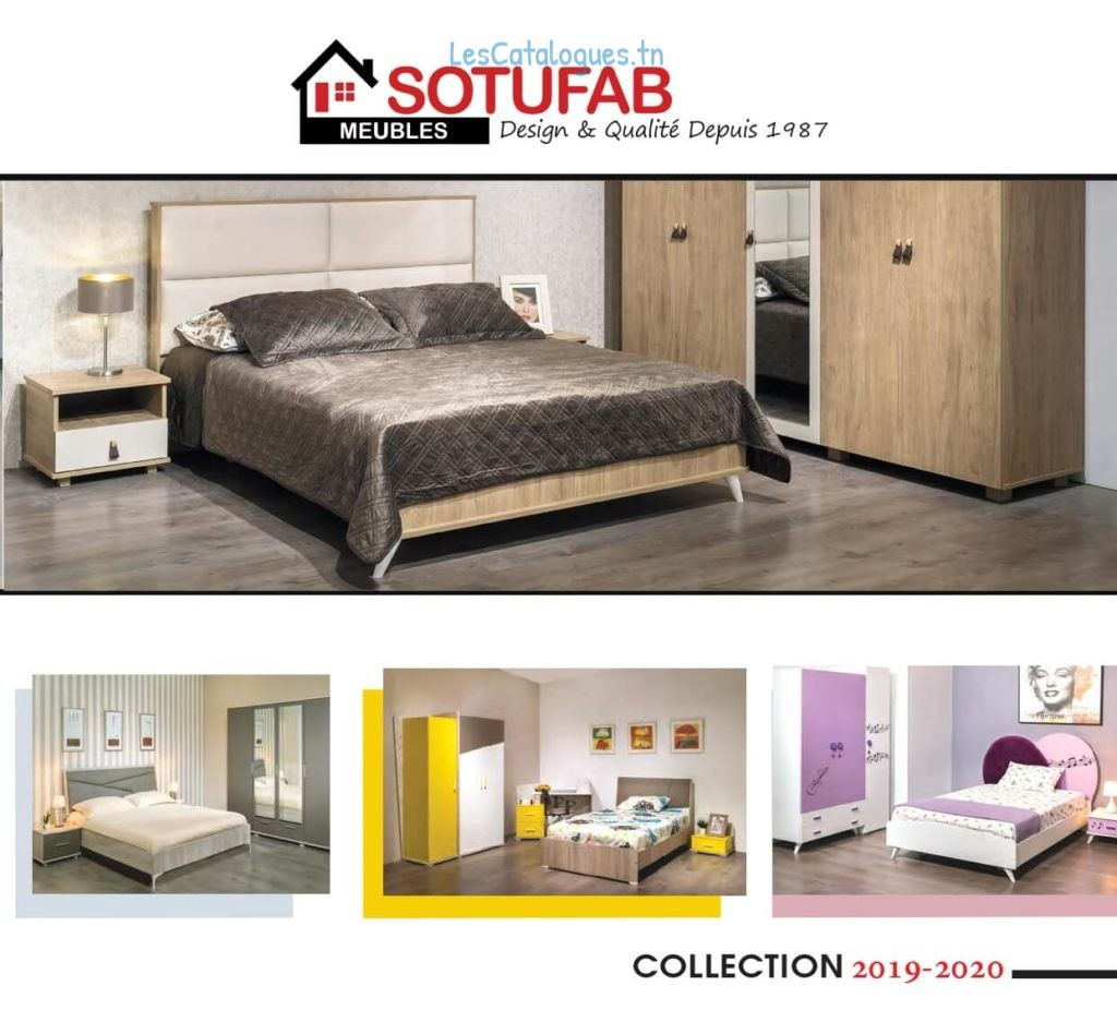 Sotufab Catalogue meuble Tunisie